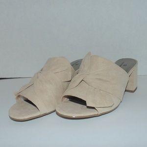 Worthington Women's Tan Slippers Size 7-7.5